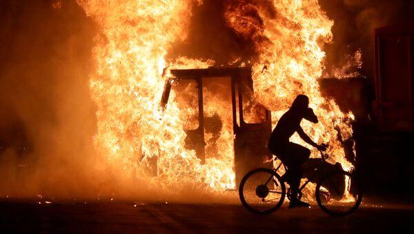Disturbios en Wisconsin, EEUU - Sputnik Mundo