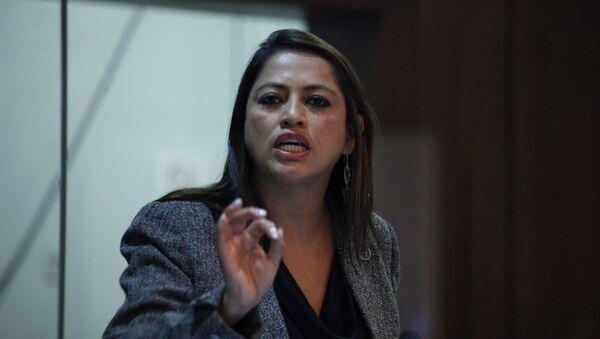 Paola Pabón,, prefecta de la provincia ecuatoriana de Pichincha - Sputnik Mundo