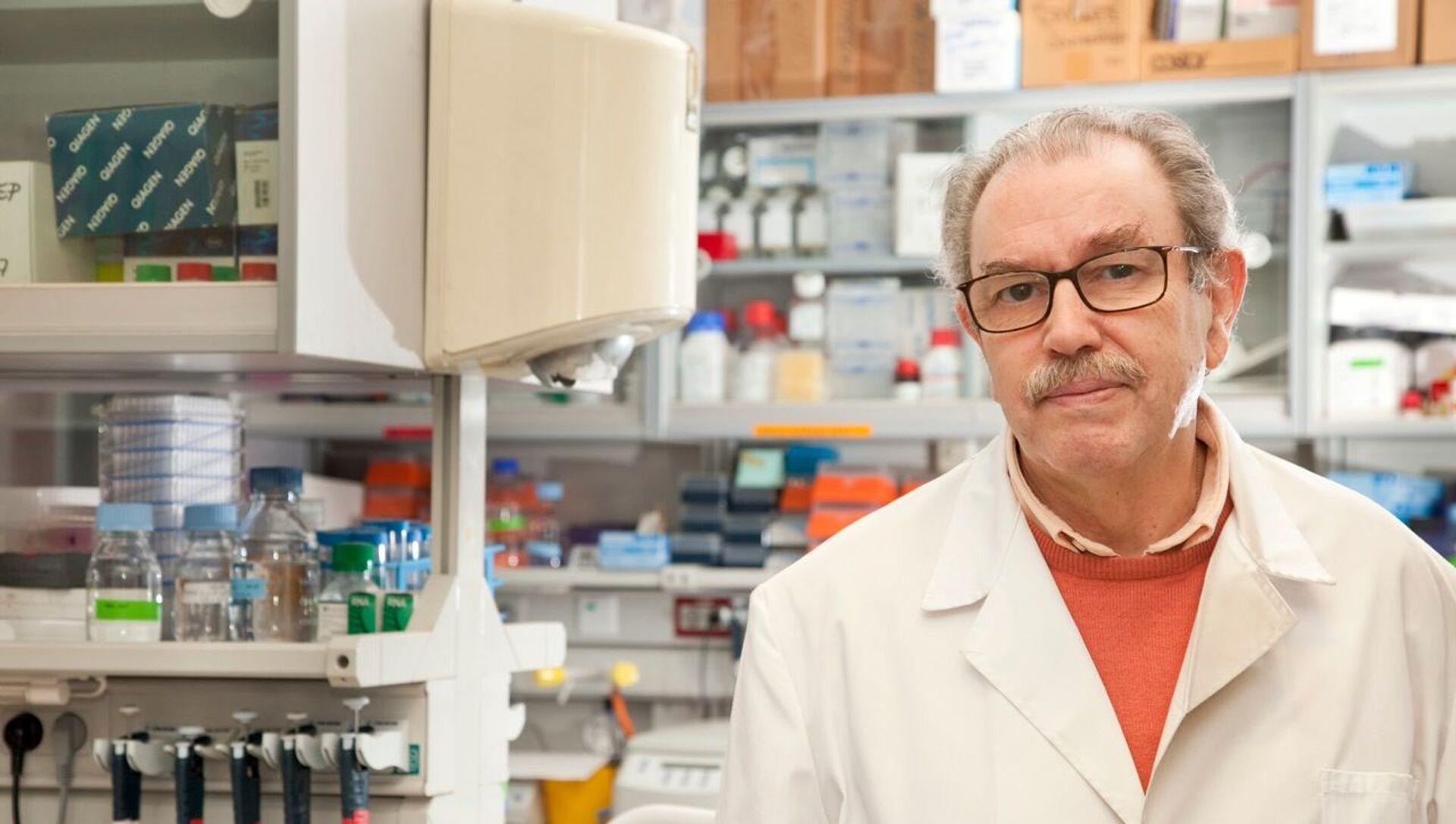 Vicente Larraga, virólogo del Centro de Investigaciones Biológicas (CIB-CSIC) - Sputnik Mundo, 1920, 23.01.2021
