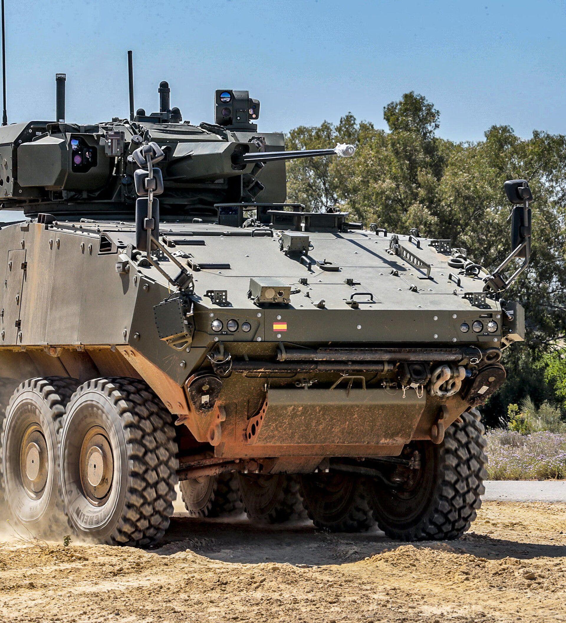 Así Es El Dragon 8x8 El Nuevo Vehículo De Combate Del Ejército Español 25 08 2020 Sputnik Mundo
