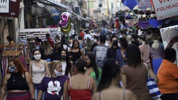 Un mercado en Brasil - Sputnik Mundo