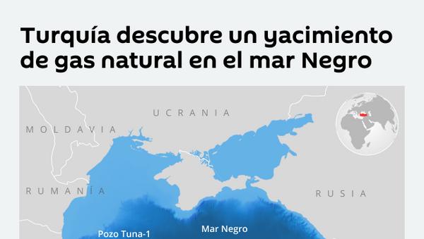 Tuna-1, el yacimiento de gas más grande de Turquía  - Sputnik Mundo