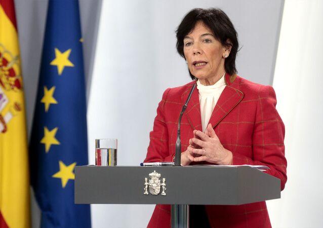 Isabel Celaá, ministra de Educación de España