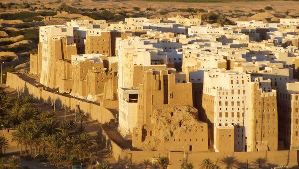 Shibam, una ciudad yemení - Sputnik Mundo