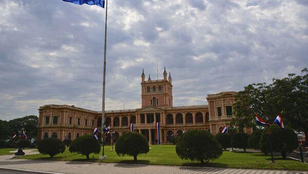 El Palacio de Gobierno de Paraguay - Sputnik Mundo