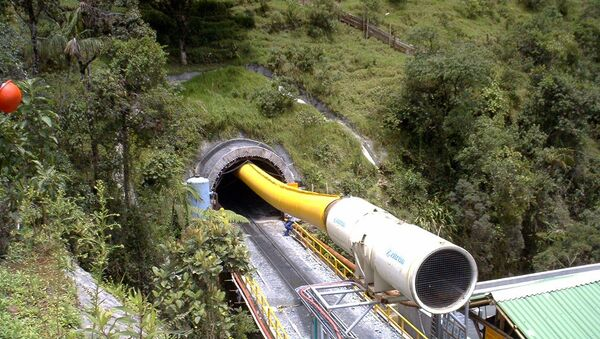 Túnel La Línea - Sputnik Mundo