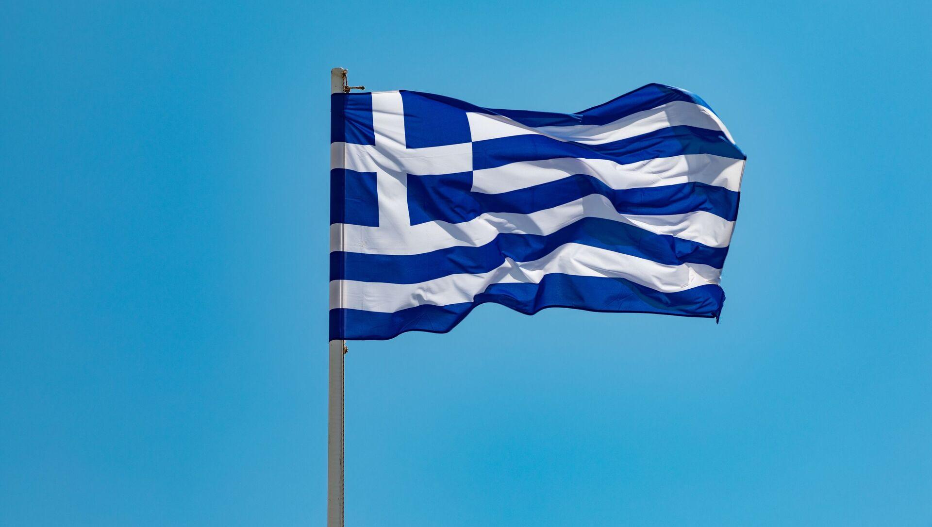 Una bandera de Grecia - Sputnik Mundo, 1920, 26.08.2020