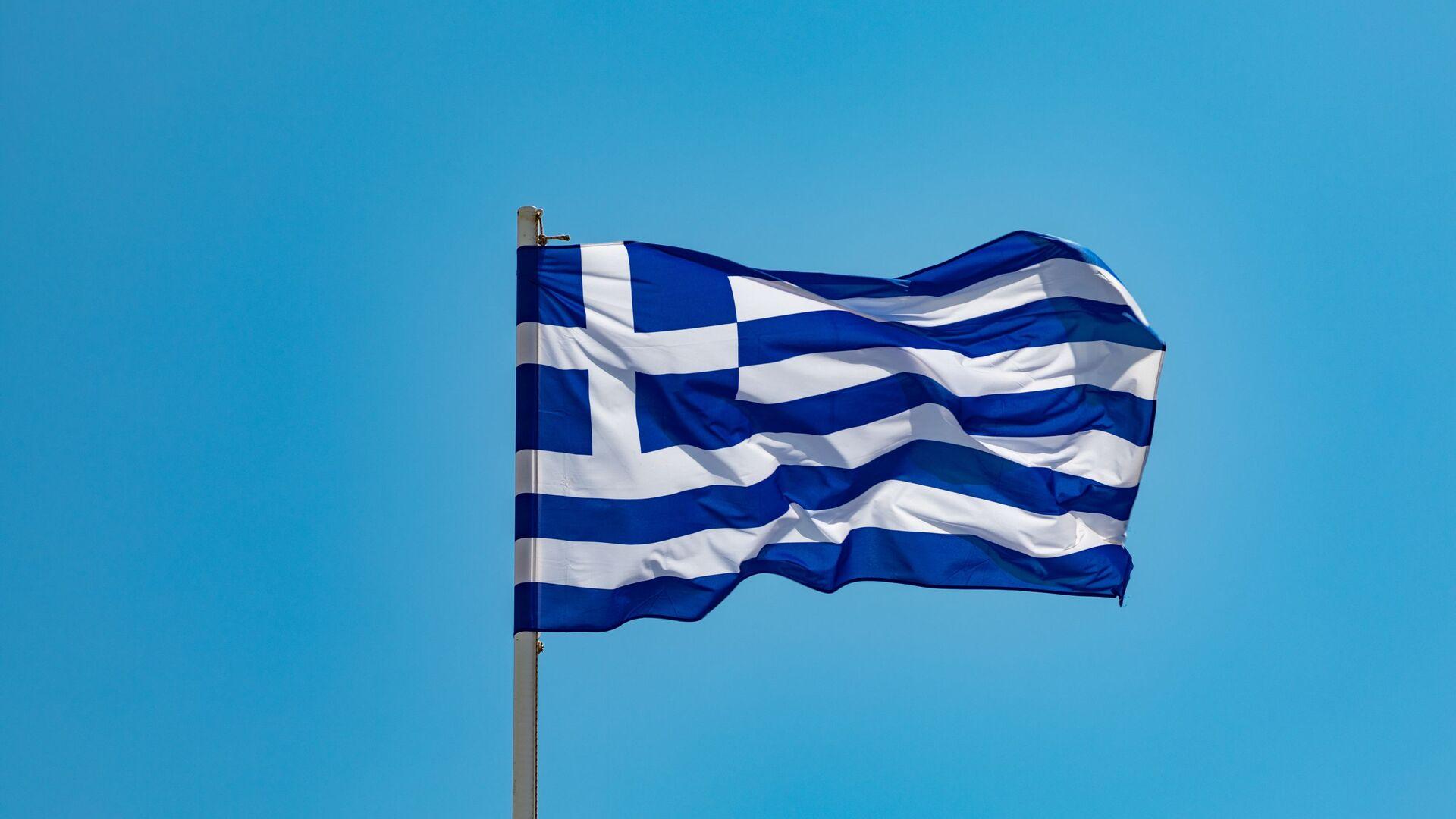 Una bandera de Grecia - Sputnik Mundo, 1920, 22.03.2021