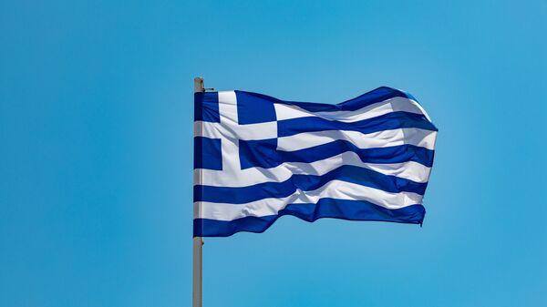 Una bandera de Grecia - Sputnik Mundo