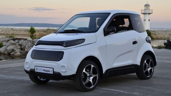 Zetta, vehículo eléctrico de fabricación rusa - Sputnik Mundo