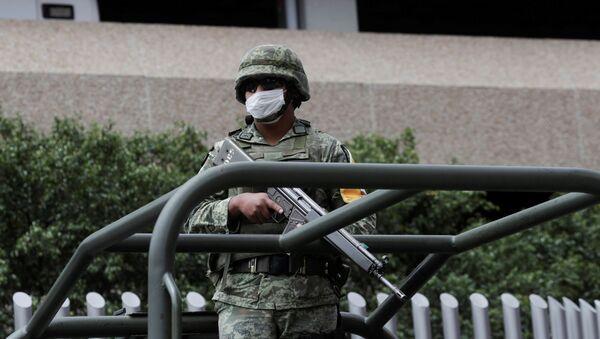 Un soldado mexicano (imagen referencial) - Sputnik Mundo