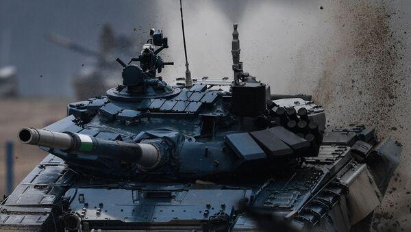 El Biatlón de Tanques en los los Juegos Army 2020 - Sputnik Mundo