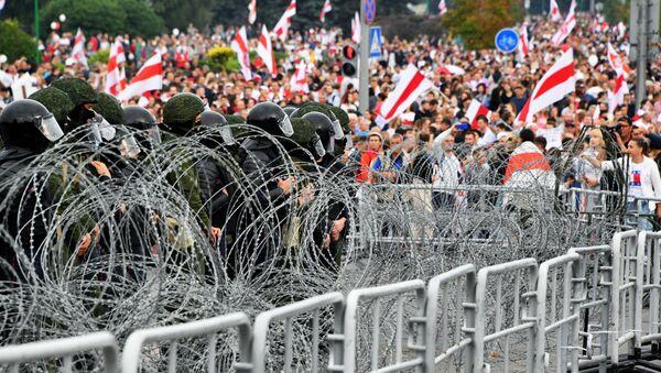 Protestas en Minsk, Bielorrusia (archvio) - Sputnik Mundo