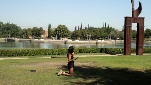 Parque Juan Carlos I de Pinto en Madrid - Sputnik Mundo
