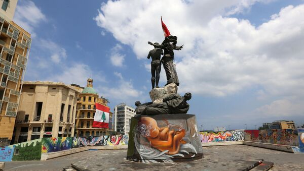 Plaza de los Mártires de Beirut, el Líbano - Sputnik Mundo