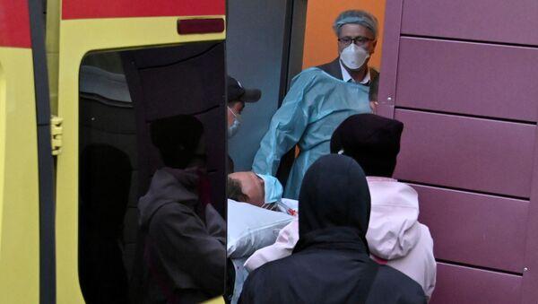 Hospitalización del opositor ruso Navalni en la clínica alemana Charité - Sputnik Mundo