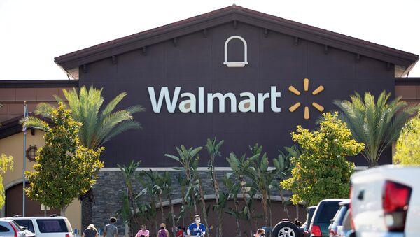 Logo de la tienda estadounidense Walmart - Sputnik Mundo