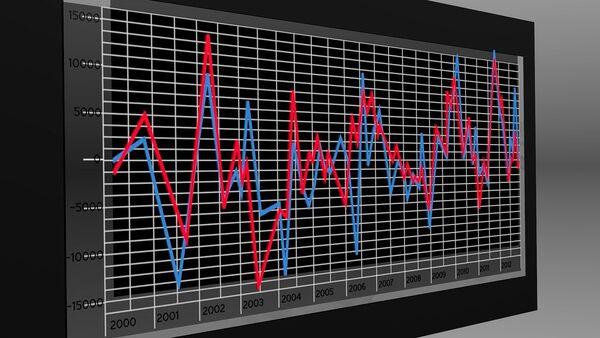 Una gráfica. Estadítica. Imagen referencial - Sputnik Mundo