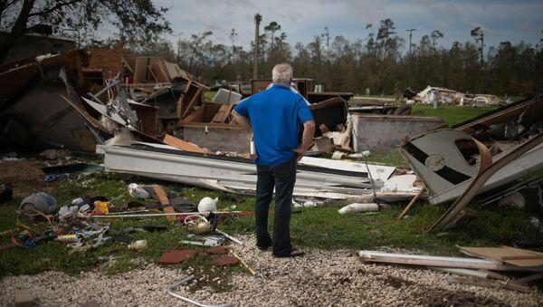 Consecuencias del huracán Laura - Sputnik Mundo