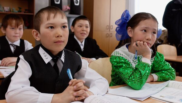 Escolares del distrito autónomo de Yamalia-Nenetsia, Rusia - Sputnik Mundo