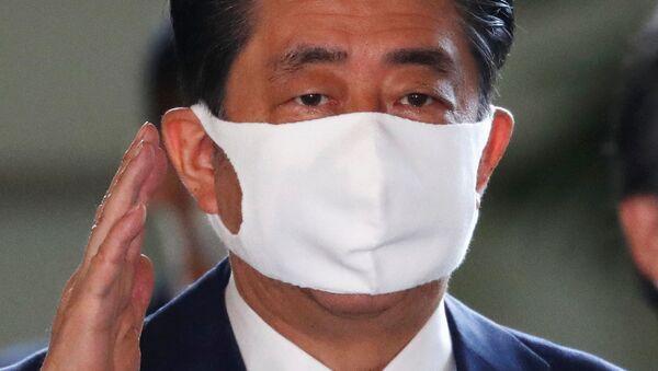 El primer ministro de Japón, Shinzo Abe - Sputnik Mundo