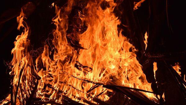 Foto referencial de un incendio - Sputnik Mundo