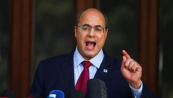 Wilson Witzel, gobernador del estado de Río de Janeiro - Sputnik Mundo