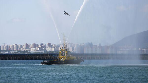 Un buque de remolque ruso (archivo) - Sputnik Mundo