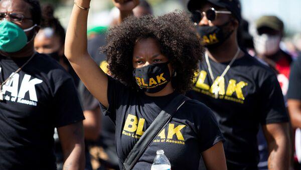 Una protesta contra el racismo en EEUU, foto de archivo - Sputnik Mundo