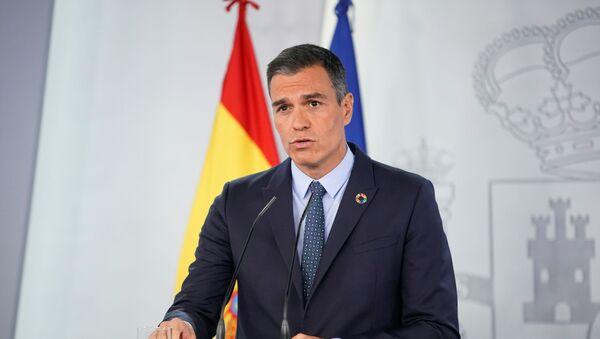 Pedro Sánchez, presidente de España - Sputnik Mundo