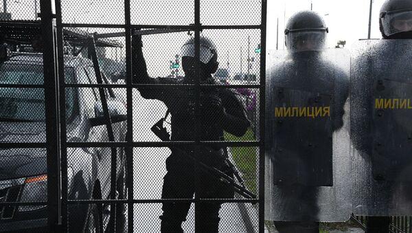 La Policía de Bielorrusia - Sputnik Mundo