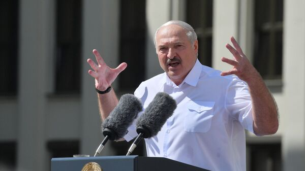 El presidente de Bielorrusia, Alexandr Lukashenko - Sputnik Mundo
