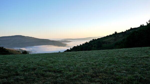 Vista de las montañas de O Cebrerio (Lugo) - Sputnik Mundo