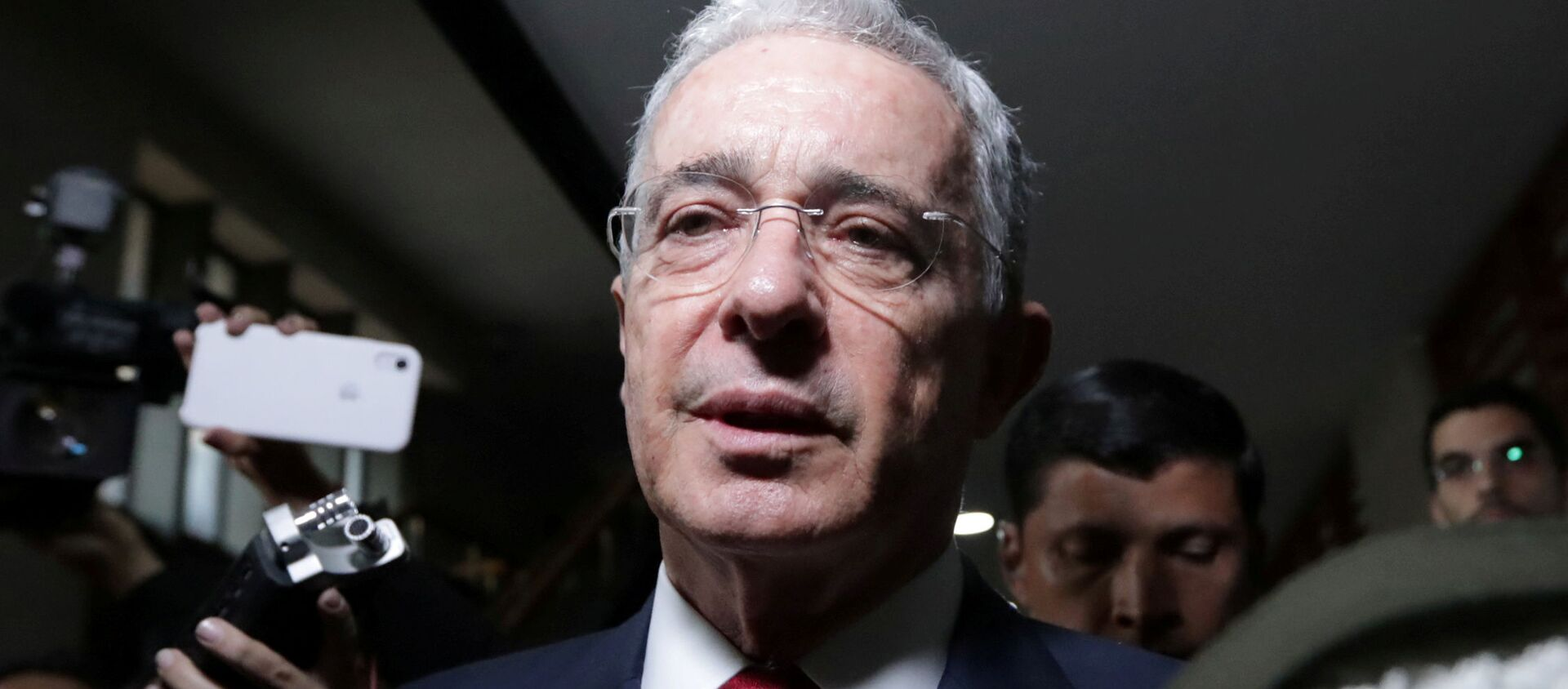 Álvaro Uribe, expresidente de Colombia - Sputnik Mundo, 1920, 31.08.2020