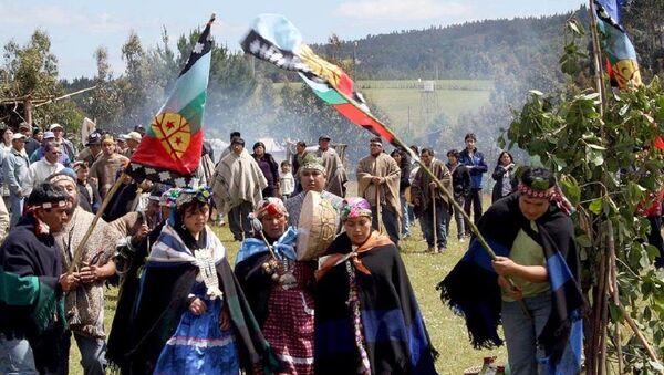 El pueblo mapuche de Chile - Sputnik Mundo