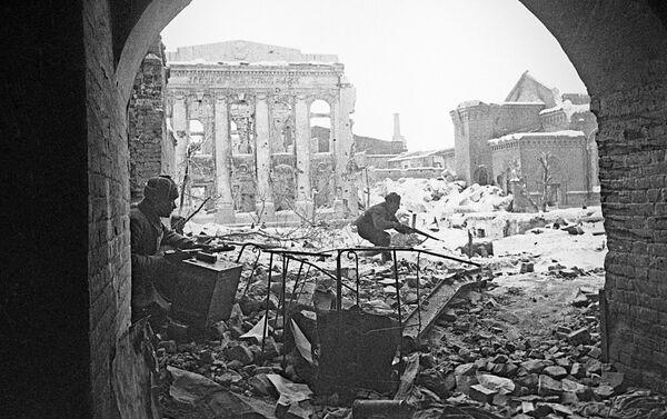 Combates en las calles de Stalingrado - Sputnik Mundo