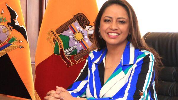 Paola Pabón, prefecta de la provincia ecuatoriana de Pichincha - Sputnik Mundo