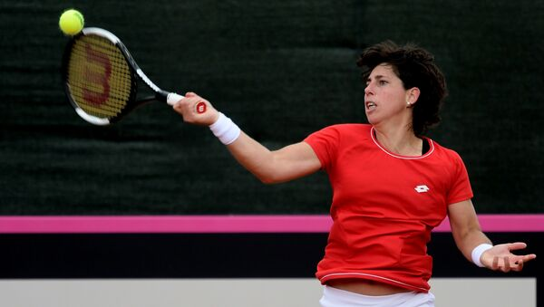 Carla Suárez, la tenista española  - Sputnik Mundo