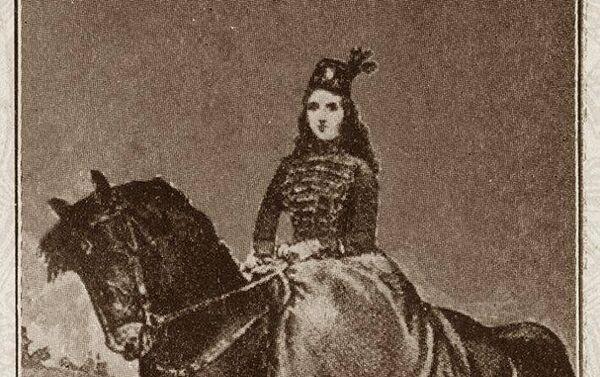 Retrato de Juana Azurduy realizado en el siglo XIX - Sputnik Mundo