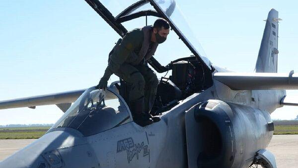 IA-63 Pampa III, avión de entrenamiento avanzado argentino - Sputnik Mundo