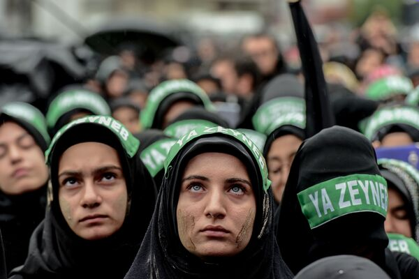La elegancia y la modestia de las mujeres musulmanas   - Sputnik Mundo