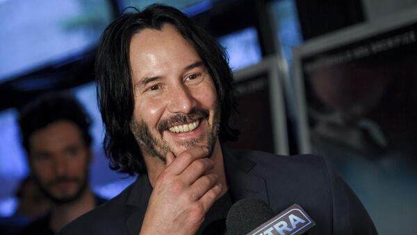 Keanu Reeves, actor canadiense - Sputnik Mundo