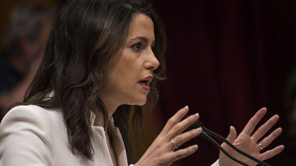 Inés Arrimadas, líder del partido político Ciudadanos - Sputnik Mundo