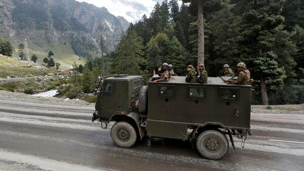 Soldados indios en Ladakh - Sputnik Mundo