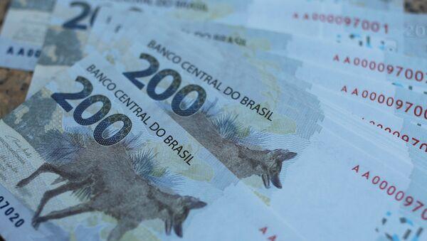 Un nuevo billete de 200 reales en Brasil - Sputnik Mundo