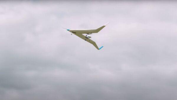 Maqueta del avión en forma de V - Sputnik Mundo