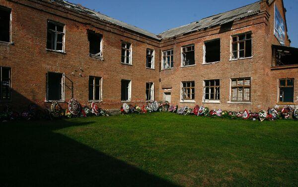 La escuela N.º 1 de Beslán en Osetia del Norte - Sputnik Mundo