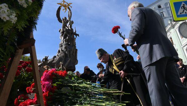 Homenaje a las víctimas del atentado de Beslán - Sputnik Mundo