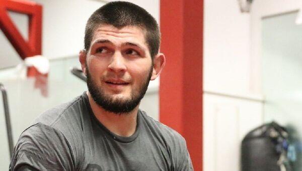 Khabib Nurmagomedov, luchador ruso de artes marciales - Sputnik Mundo