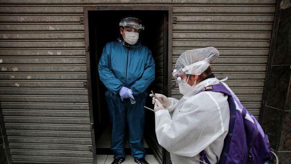 Coronavirus en Bolviia - Sputnik Mundo